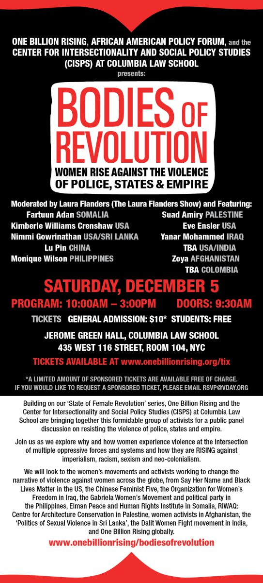 Printable bodies of revolution women rise against the violence of police states empire new york december 6 fandeluxe Gallery