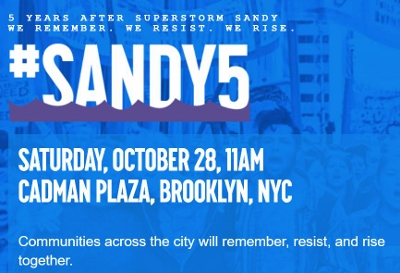 Superstorm Sandy - 5 years later