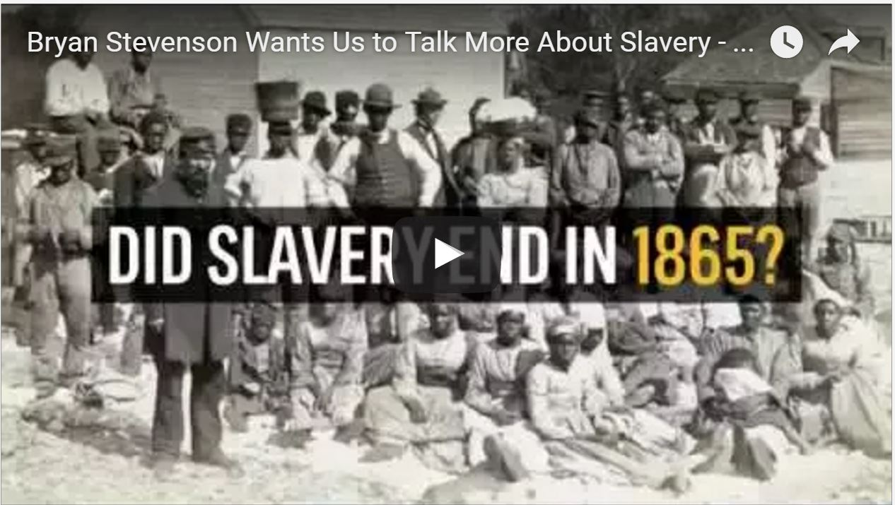 slavery and mass incarceration Documentary '13th' argues mass incarceration is an extension of slavery filmmaker ava duvernay talks about her new documentary, 13th, which explores the history of race and the criminal justice system in the united statesthe film's title refers to the 13th amendment.