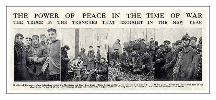 Lessons From The Christmas Truce Of 1914 Portside