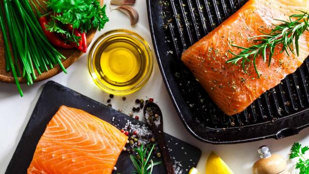 How often should you be eating fish portside for How often to feed fish