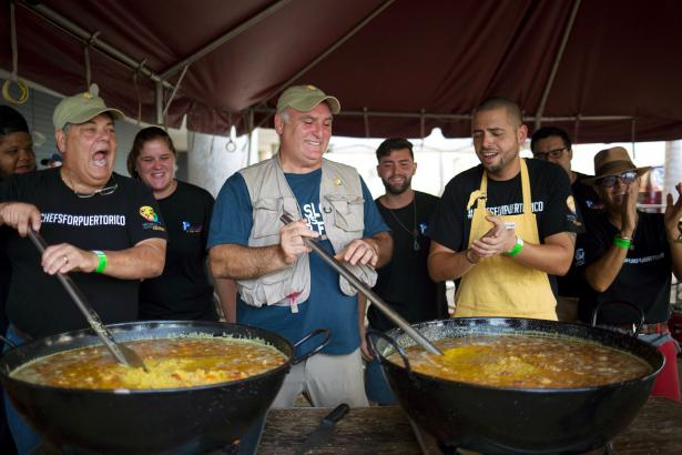 Chef Jose Andres and his team have fed millions in disaster zones