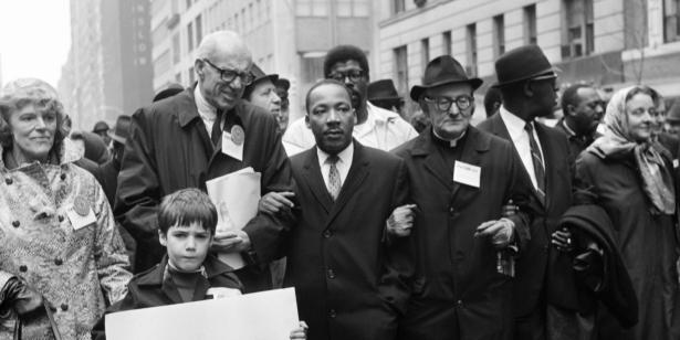 MLK in demonstration