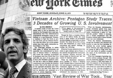 pentagon papers thesis The domino thesis was quite prominent go to volume 3, chapter 2 of the pentagon papers, military pressures against north vietnam.