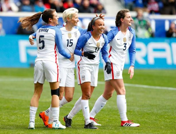 Usa soccer team women 2018