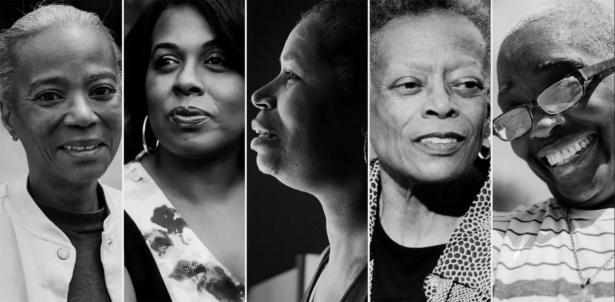 Five black women aging with HIV.
