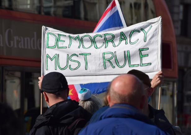 Democracy must rule.