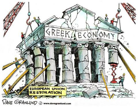 greek government debt crisis The more the greek government taxes people (in ratio to the amount it spends), the worse the situation will become repeat after me : a state/economy is not like a household or a business.