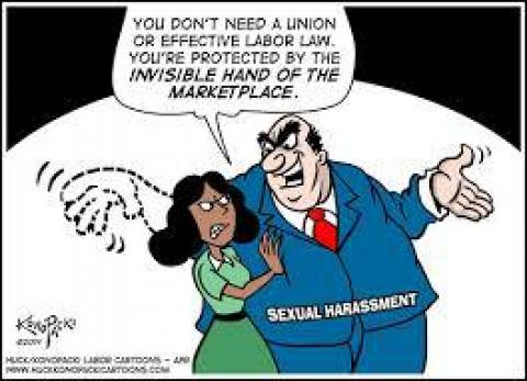sexual misconduct in the workplace Sexual harassment in the workplace is nothing new, but the issue is seeing a tidal wave of recognition and attention as celebrities, co-workers and others.