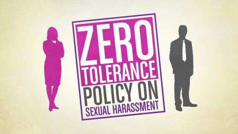 Image result for no tolerance for sexual harassment