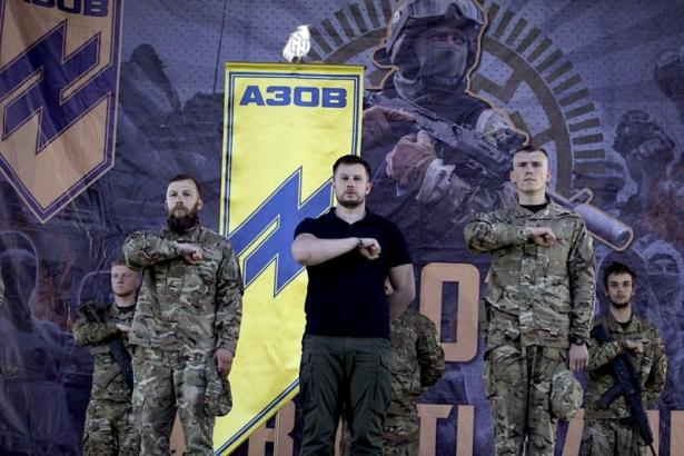 Ukrainian Nazis group leaders
