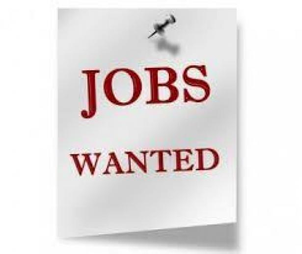 sign on a bulletin board - jobs wanted