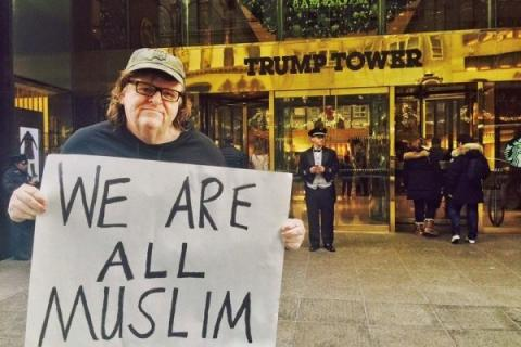 Image result for michael moore donald trump