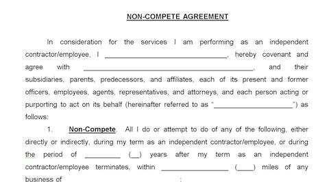 Eliminating Noncompete Agreements  Portside