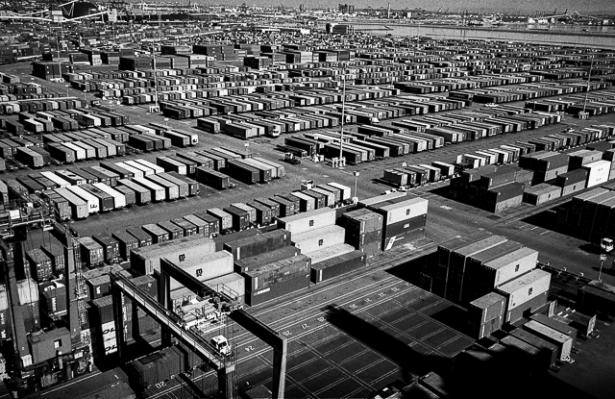 Port of LA containers yard