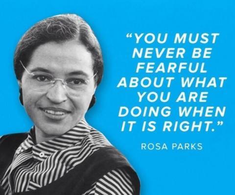 February 4 - Rosa Parks Birthday; How History Got the Rosa Parks ...