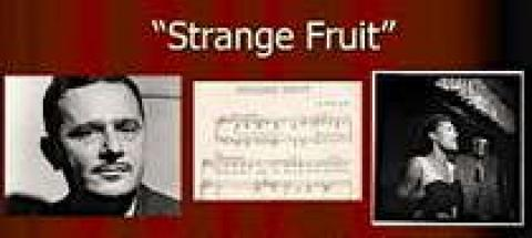 "an interpretation of the strange fruit a song by abel meeropol The song ""strange fruit"", sung by billy holiday in 1939, was written by abel meeropol in 1937 it is about the former black slaves in the south of."