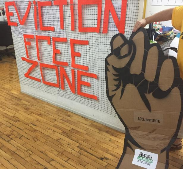 eviction free zone banner