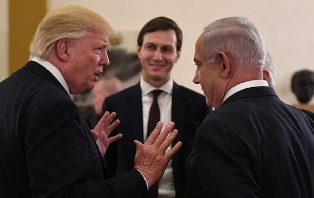 Trump, Kushner and Netanyahu