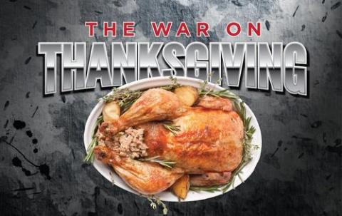 War on Thanksgiving logo