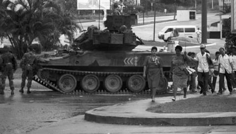 the us invasion of panama in 1989 and its results The united states would have to commit itself to a full-scale invasion of panama to dismantle the pdf and establish democracy in panama after a successful invasion of the panama, the pdf regime was completely dismantled and noriega was under siege.