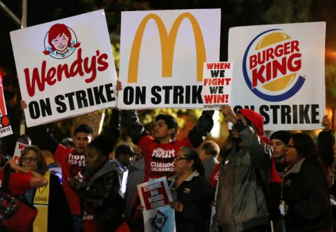 Fast Food Places That Pay More Than Minimum Wage