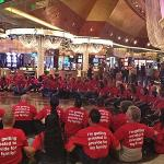 Casino Workers Stage Las Vegas Sit-in feature image