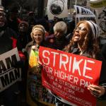 Fast Food Strikes Spread feature image