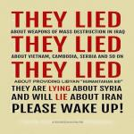 Say No to War in Syria feature image