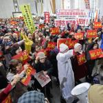 Thousands Protest New Air Base After Okinawa  feature image