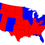 Red States, Blue States (Sized by People) feature image
