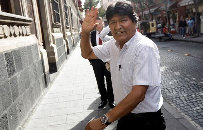 Evo Morales, Bolivia's former president and leader of the Movement for Socialism party.