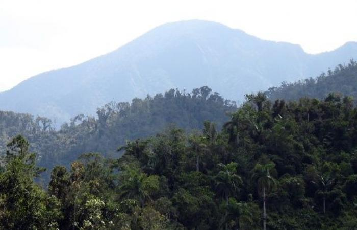 Sierra MAestra Mountains in Cuba