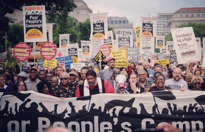 Poor People's Campaign demonstration