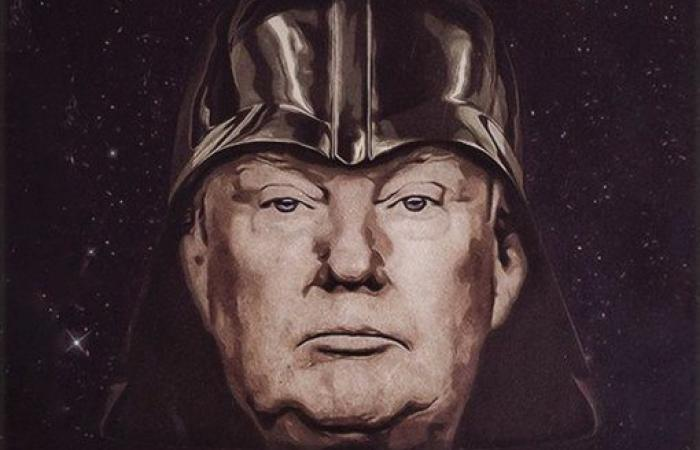The TrumpVader poster.