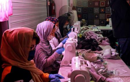 garment workers in Greece