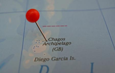 Chagos identified on map
