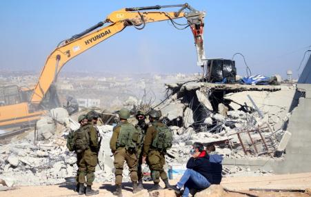 demolition of Palestinian homes by Israel