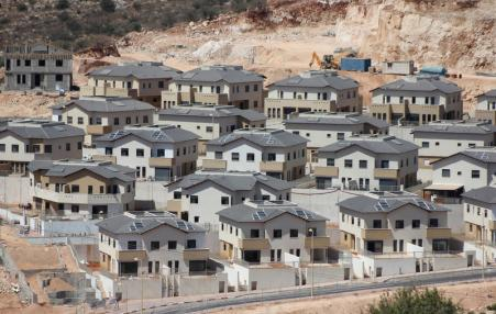 new Jewish settlers housing displacing Palestinian village