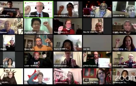 international groups' zoom meeting