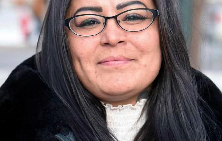 Red Fawn,a Standing Rock activist and leader